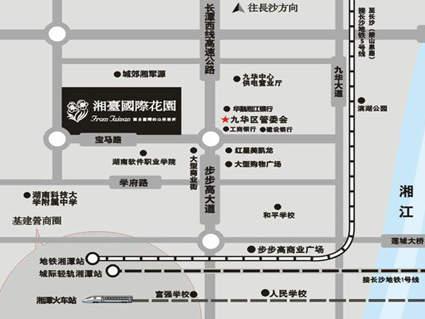 湘台国际花园位置图