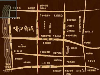 福乐香江锦城位置图
