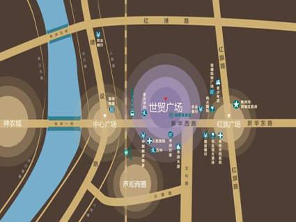 世贸广场位置图