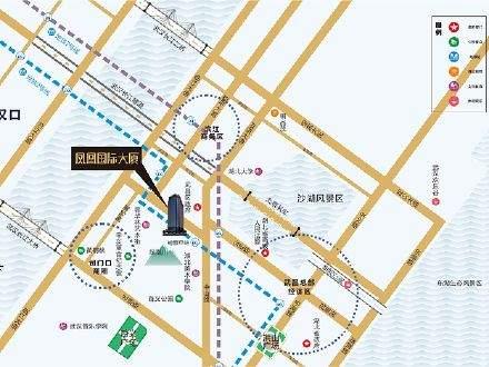 凤凰国际大厦位置图