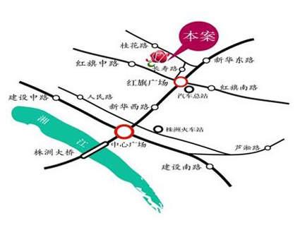 玫瑰名城位置图
