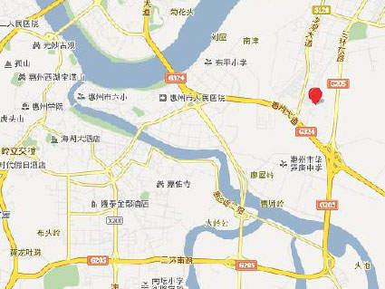 宝安山水龙城位置图