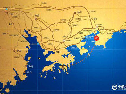 中航元屿海位置图