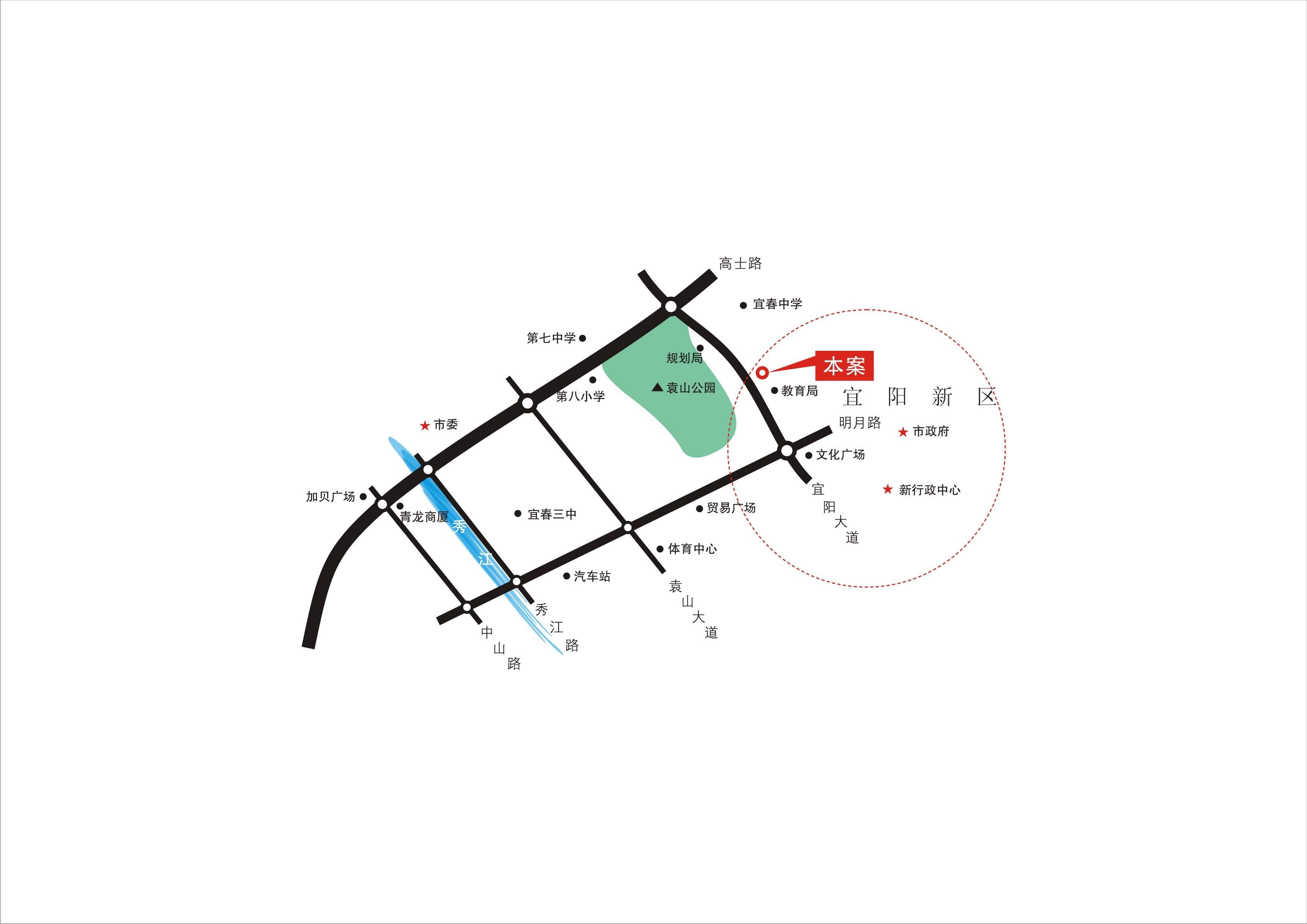 南氏•翰林世家位置图