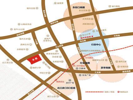 海晟·闽江印象位置图
