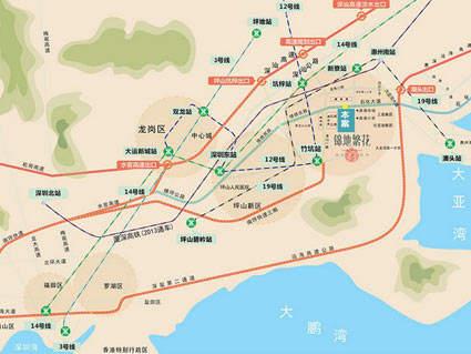 锦地繁花位置图