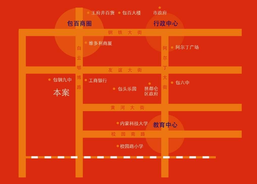 禧瑞都·禧福广场位置图