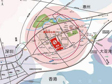 清泉城市广场位置图