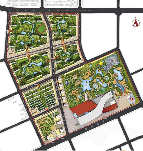 哈尔滨万达城位置图