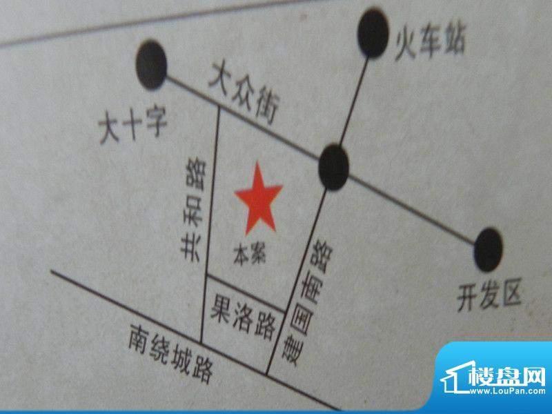 越州.第5街位置图