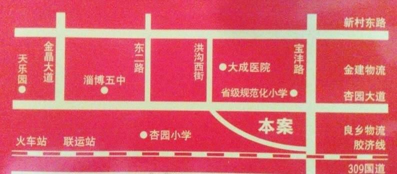 汇金公寓位置图