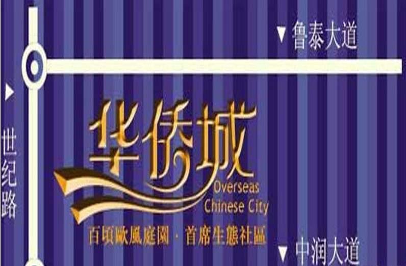 中润华侨城位置图