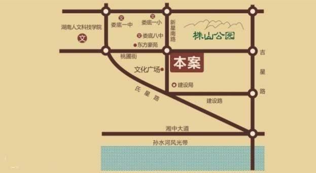 君悦南岸二期位置图