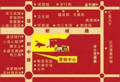 东苑国际商业广场位置图