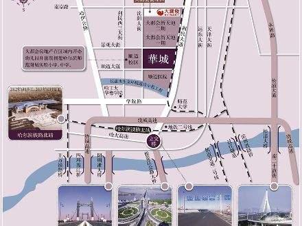 大都会华城位置图