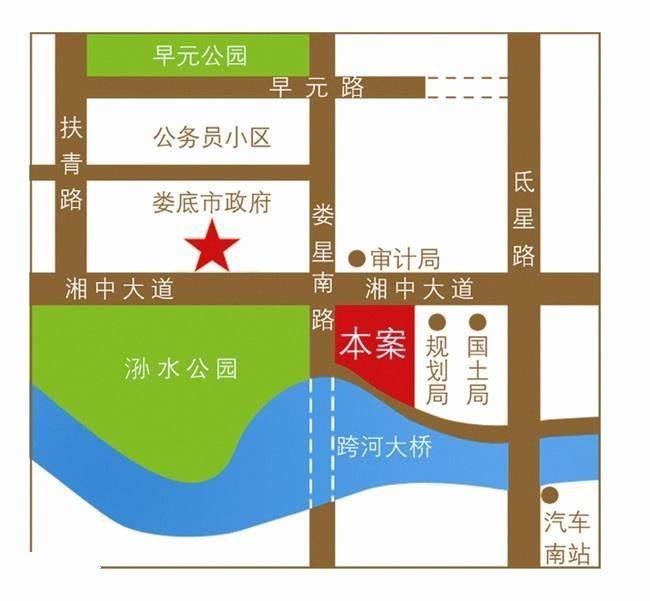 壹号公馆位置图