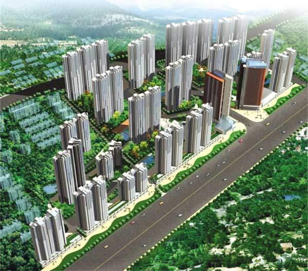 阳光花城东区位置图