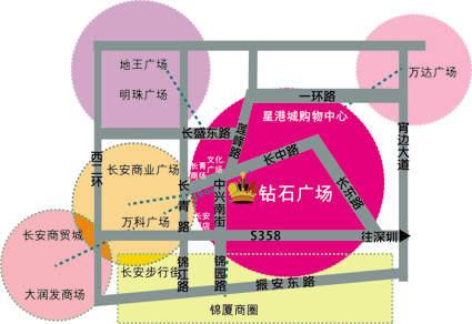 钻石时尚广场位置图