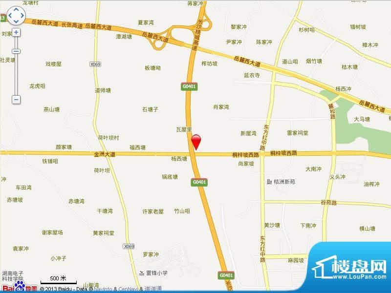 宁乡蓝色港湾位置图
