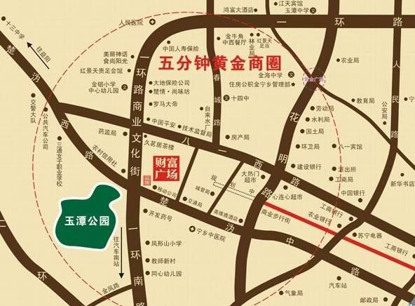 财富广场位置图