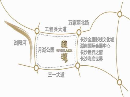 藏珑湖上国际花园位置图