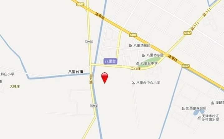 天津碧桂园位置图