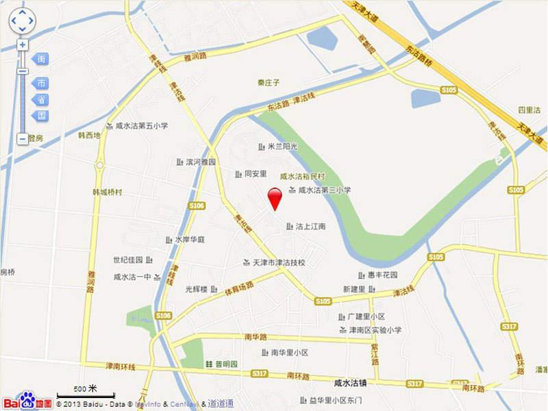 沽上江南位置图