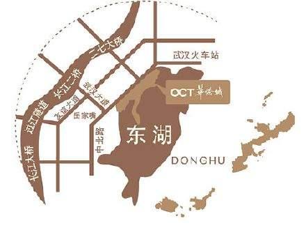 华侨城双子座公寓位置图