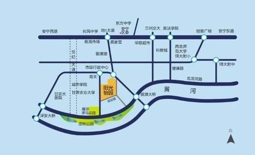 阳光怡园位置图