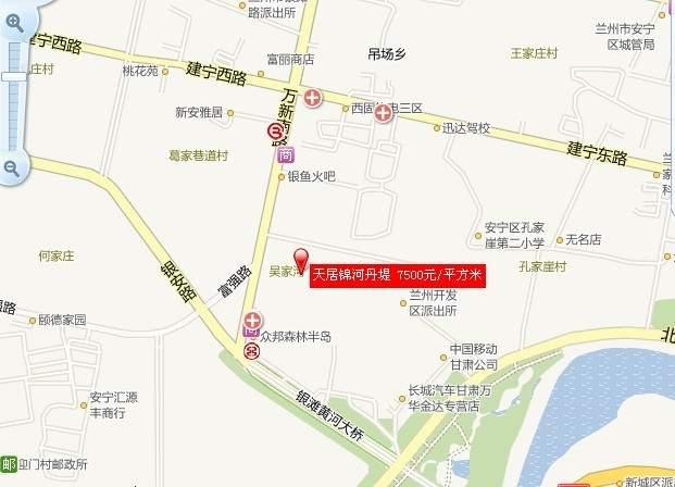 天居锦河丹堤位置图