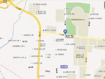 裕华广场位置图