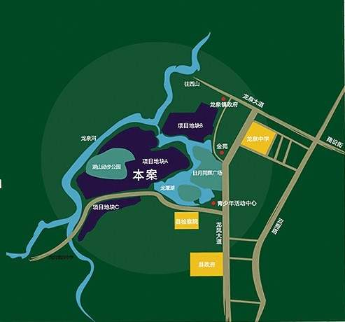 斌鑫•中央公园城位置图