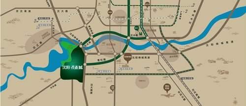 沈阳孔雀城位置图