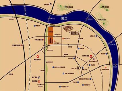 旺城天悦位置图