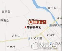 山水蓉园位置图