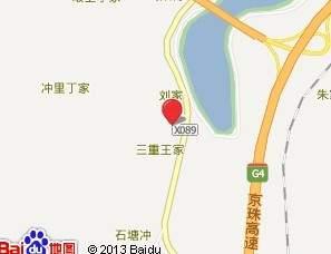 扬德云水湾 位置图