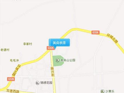 美奂枫景位置图