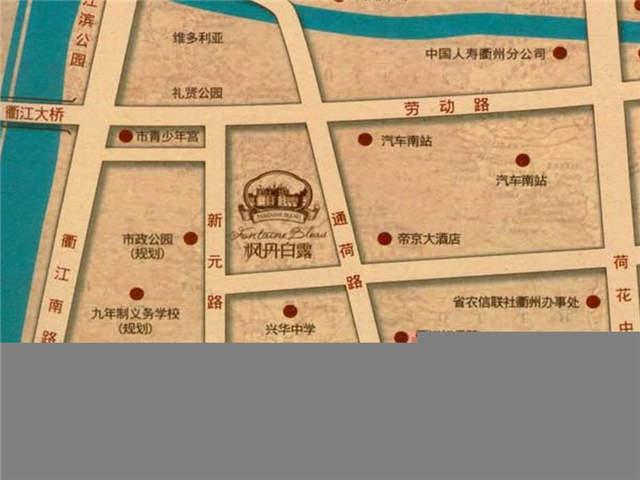 建工·枫丹白露位置图