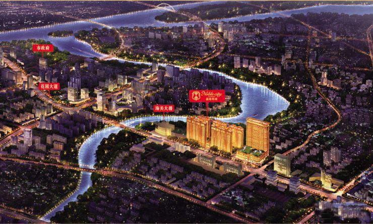 鑫港·尚城位置图
