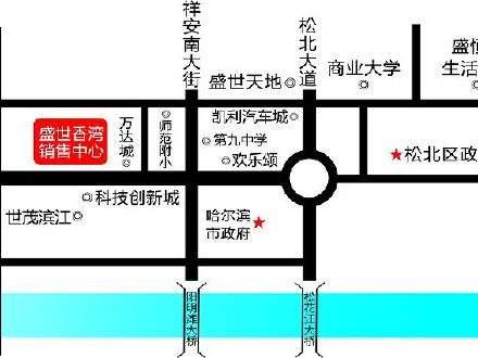 盛世香湾位置图