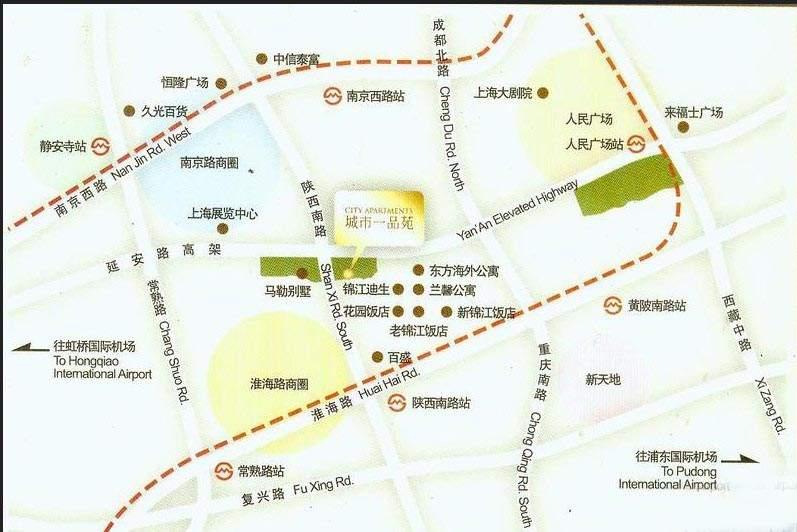 城市一品苑位置图