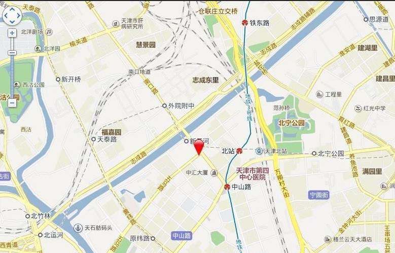 天津诺德中心位置图