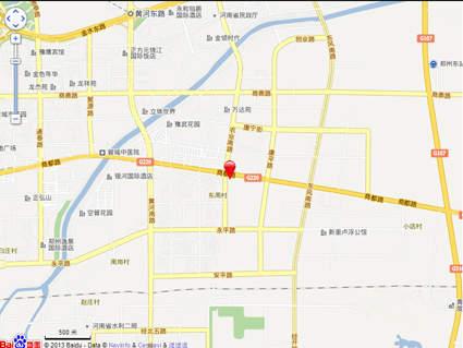郑东商业中心位置图
