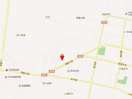 水岸鑫城六期揽湖位置图