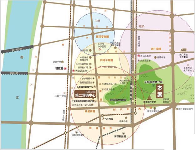 碧桂园南城首府位置图