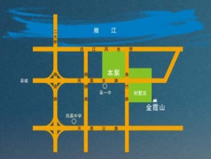 金霞美墅位置图