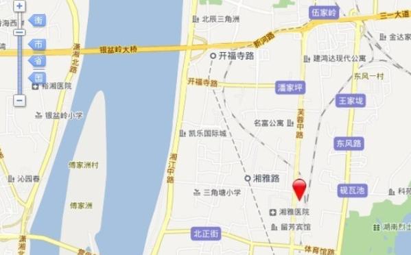 绿地中心位置图