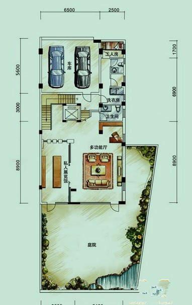 中海银海湾户型图