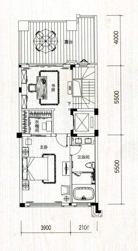 五洲家园户型图