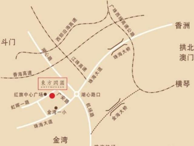 东方润园位置图